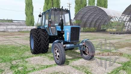 Belarús MTZ 80L para Farming Simulator 2017