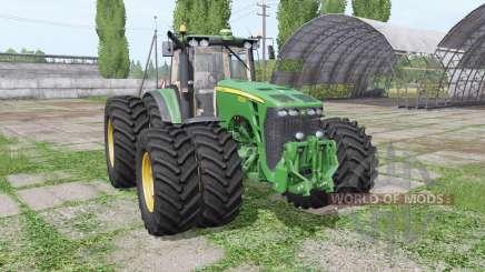 John Deere 8530 twin wheels para Farming Simulator 2017