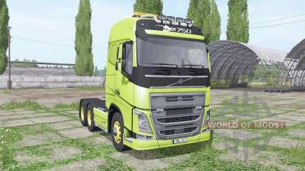 Volvo FH16 750 interactive control para Farming Simulator 2017