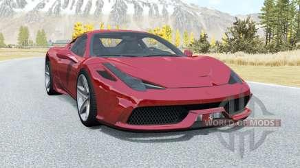 Ferrari 458 Speciale para BeamNG Drive