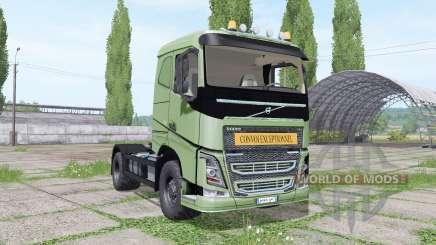 Volvo FH 540 convoy de exceptionnel para Farming Simulator 2017