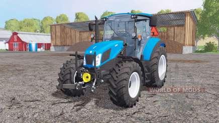 New Holland T5.115 front loader para Farming Simulator 2015