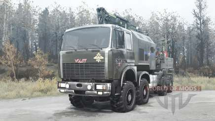 """Volat """" MZKT 7401 para MudRunner"""