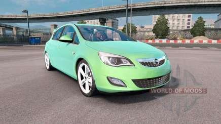Opel Astra (J) 2010 para Euro Truck Simulator 2