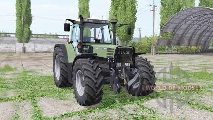 Fendt Favorit 515C Turbomatik loader mounting para Farming Simulator 2017