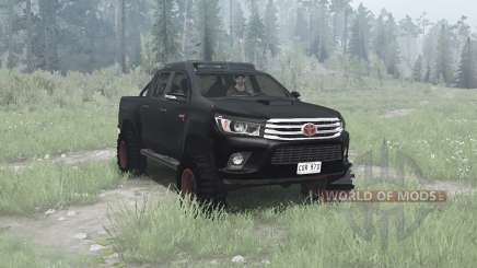 Toyota Hilux 4x4 Double Cab 2016 para MudRunner