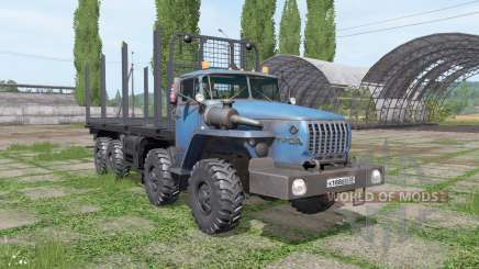 Ural 6614 v1.1 para Farming Simulator 2017