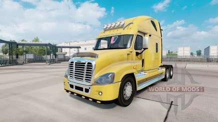 Freightliner Cascadia Raised Roof 2007 para Euro Truck Simulator 2