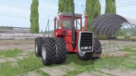 Massey Ferguson 1200 twin wheels para Farming Simulator 2017