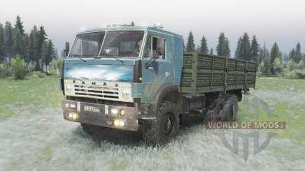 KamAZ 5320 6x6 para Spin Tires