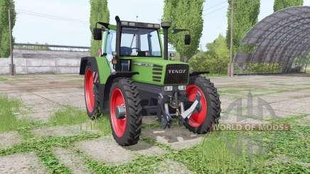 Fendt Favorit 515C Turbomatic narrow wheels para Farming Simulator 2017