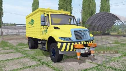 International DuraStar chipper truck para Farming Simulator 2017