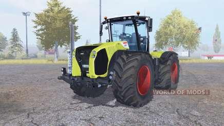 CLAAS Xerion 5000 Trac VC verde para Farming Simulator 2013