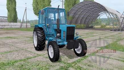 MTZ 80 Belarús 4x4 para Farming Simulator 2017