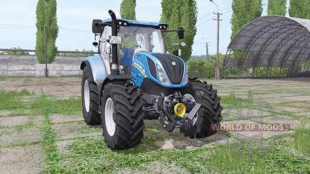 New Holland T6.140 rundumleuchte para Farming Simulator 2017