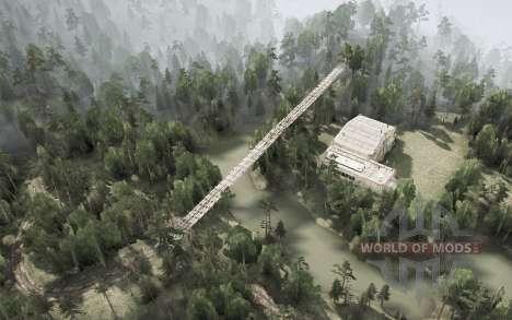 Distrito De Anshan. La Ciudad De Shijie para Spintires MudRunner