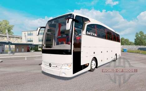 Mercedes-Benz Travego (O580) v5.5 para Euro Truck Simulator 2