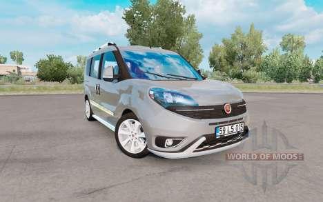 Fiat Doblo (152) 2015 v1.1 para Euro Truck Simulator 2