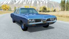Dodge Coronet sedan (WP41) 1970 v2.2 para BeamNG Drive