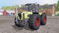 CLAAS Xerion 3800 Trac VC double wheels para Farming Simulator 2015