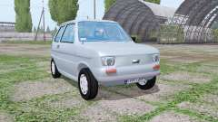 Fiat 126p 1973 para Farming Simulator 2017