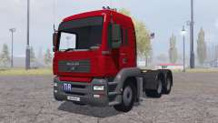 MAN TGA 26.480 6x6 BLS para Farming Simulator 2013