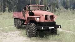 Ural 4320-41 6x6 para MudRunner