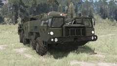 MAZ 5247Г 9К72 Elbrus para MudRunner