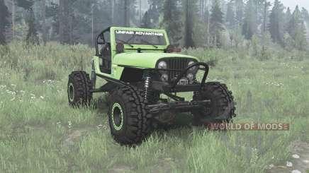 Jeep CJ-7 Renegade 1975 buggy para MudRunner