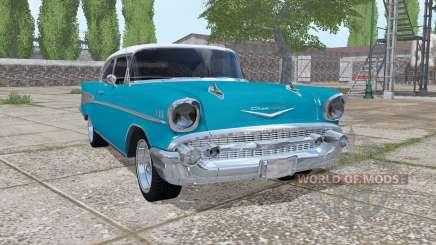 Chevrolet Bel Air (2400) 1957 v1.0.0.2 para Farming Simulator 2017