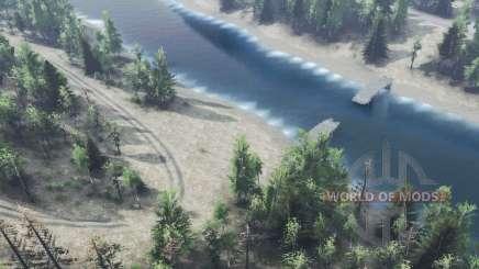 Río para Spin Tires