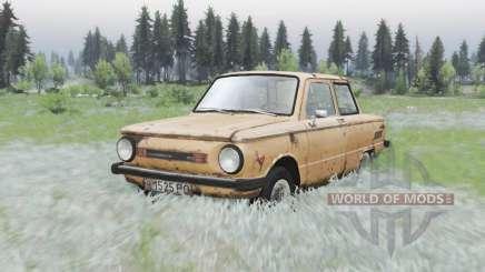 ZAZ 968M Zaporozhets para Spin Tires