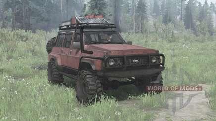 Nissan Patrol GQ 5-door (Y60) para MudRunner