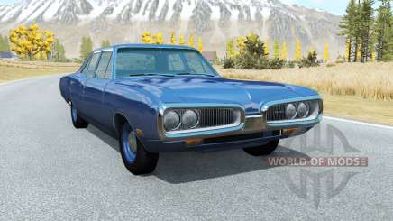 Dodge Coronet sedan (WP41) 1970 v2.2 para BeamNG Drive