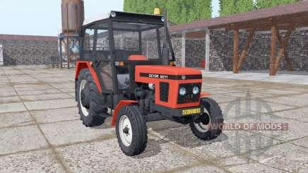 Zetor 6211 realistic smoke para Farming Simulator 2017