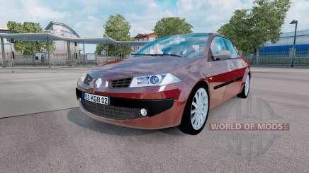 Renault Megane sedan 2006 v1.1 para Euro Truck Simulator 2