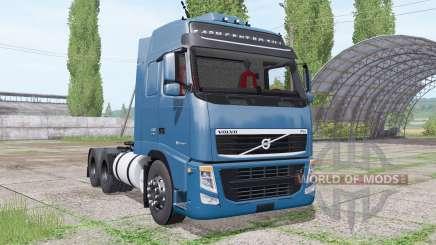 Volvo FH 440 6x4 Globetrotter XL cab 2010 para Farming Simulator 2017