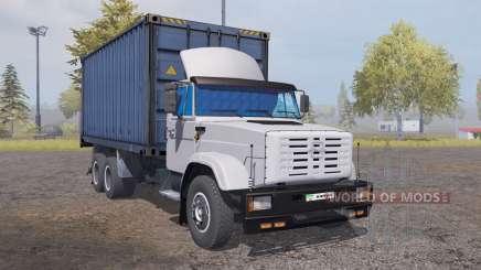 ZIL 6309 contenedor v2.0 para Farming Simulator 2013