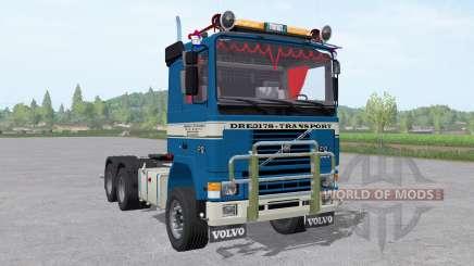 Volvo F12 tractor para Farming Simulator 2017