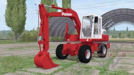 Poclain 60 para Farming Simulator 2017