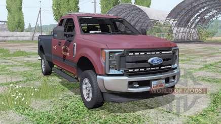 Ford F-250 Super Duty XL FX4 Super Cab 2016 para Farming Simulator 2017