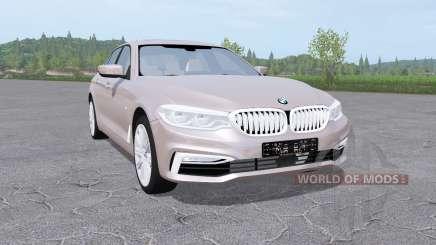 BMW 540i xDrive sedan (G30) 2017 para Farming Simulator 2017