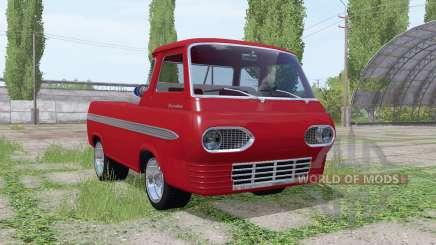 Ford Econoline pickup truck 1963 para Farming Simulator 2017