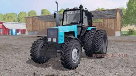 MTZ 1221В.2-Belarús ruedas duales para Farming Simulator 2015