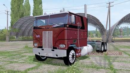 Peterbilt 352 6x6 tractor Cab Over para Farming Simulator 2017