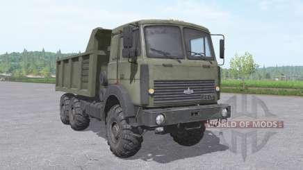 MAZ 6317 camión v2.3.2 para Farming Simulator 2017