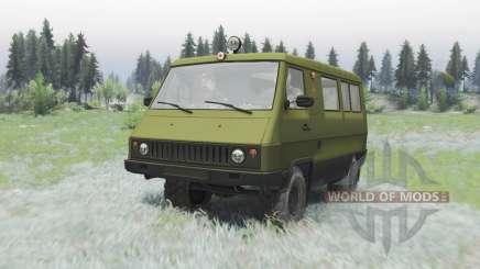 UAZ 3972 Coche para Spin Tires