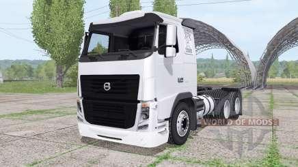 Volvo FH 440 6x6 Sleeper cab 2010 para Farming Simulator 2017