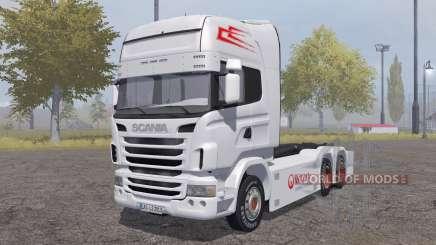 Scania R-series hooklift para Farming Simulator 2013