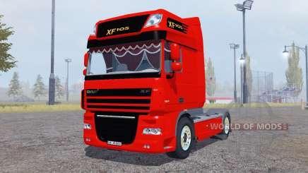 DAF XF105 FT Super Space Cab para Farming Simulator 2013